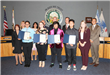 Recognizing Anaheim's VolunTEENS for their volunteer service