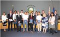 Recognizing Anaheim students participating in Boys State and Girls State, Summer 2018