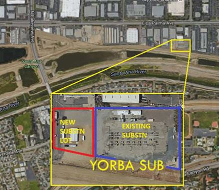Yorba Substation Extension