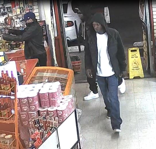 Third Suspect in Robbery Enters Store