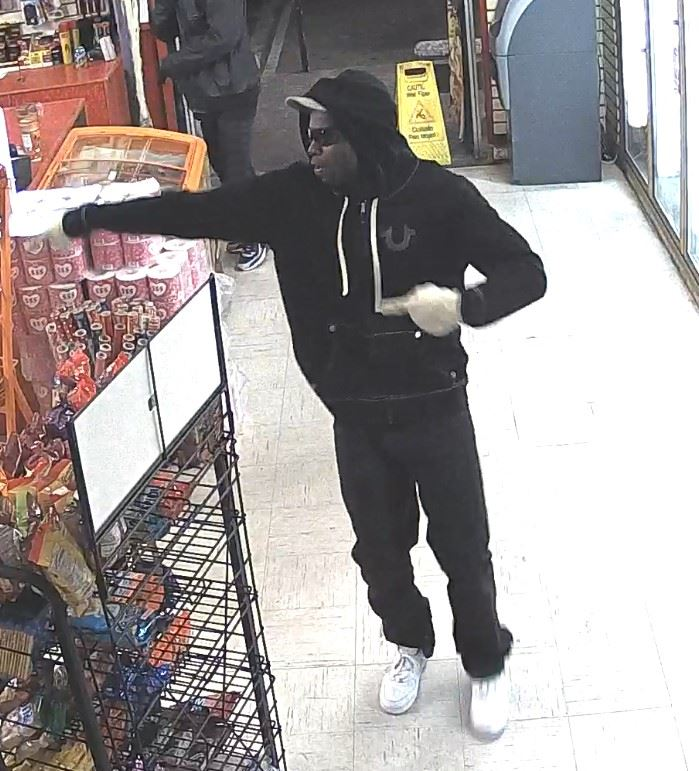 Third Suspect Pointing