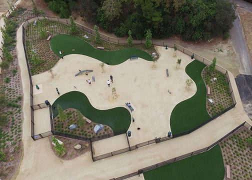 Olive Hills Dog Park - Small dog park- For Web