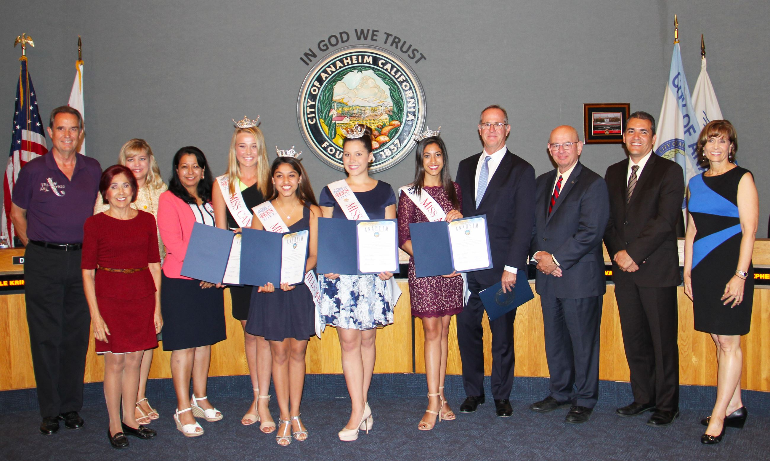 Miss Anaheim Scholarship Association Winners
