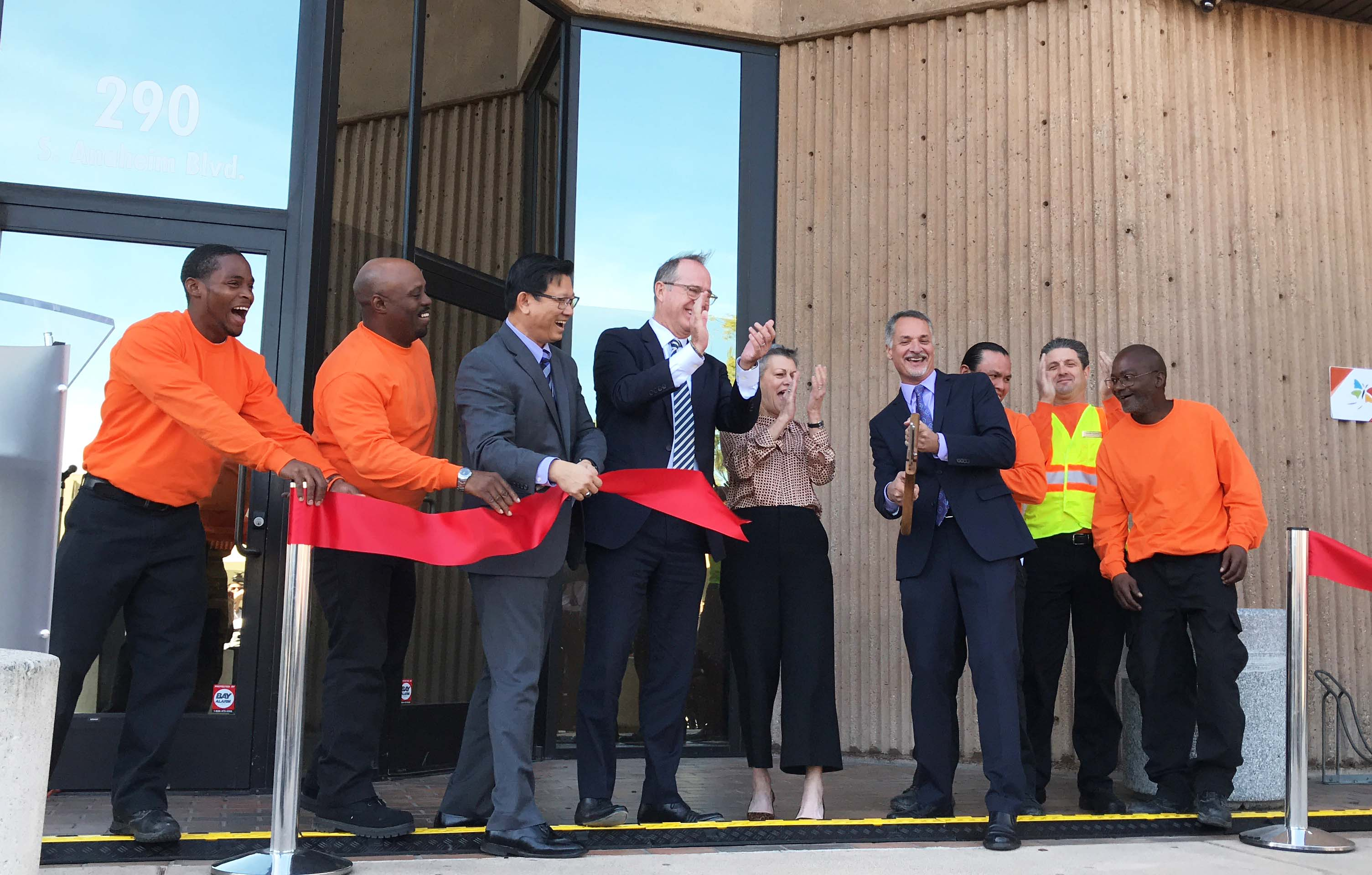 Chrysalis ribbon cutting