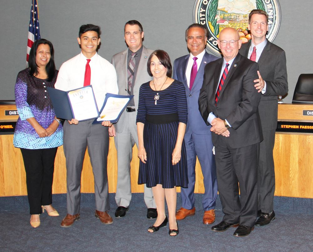 Recognizing U.S. Service Academy Appointment Joshua Paul De Guzman
