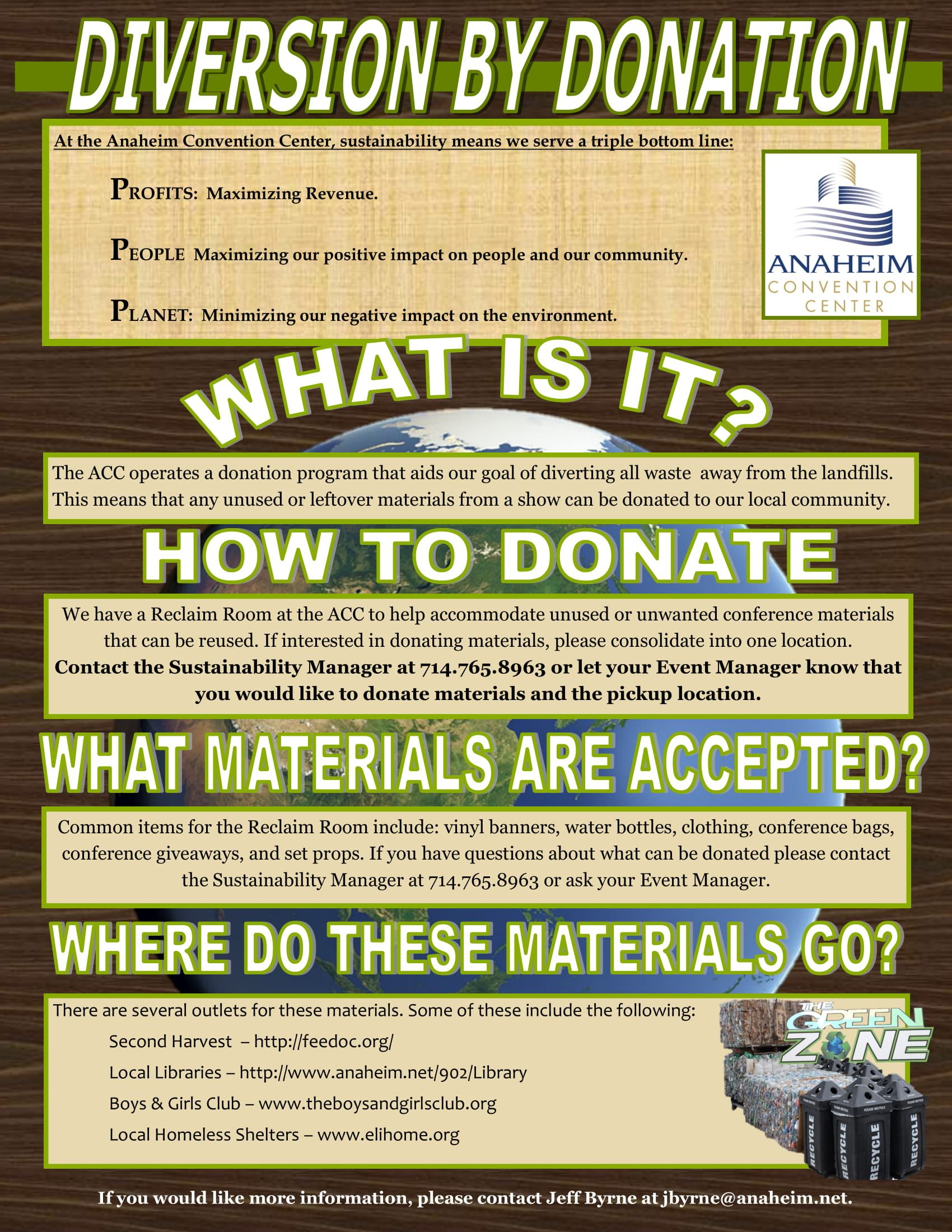Diverson by Donation Flyer-1a
