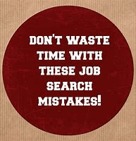 job search mistakes 2