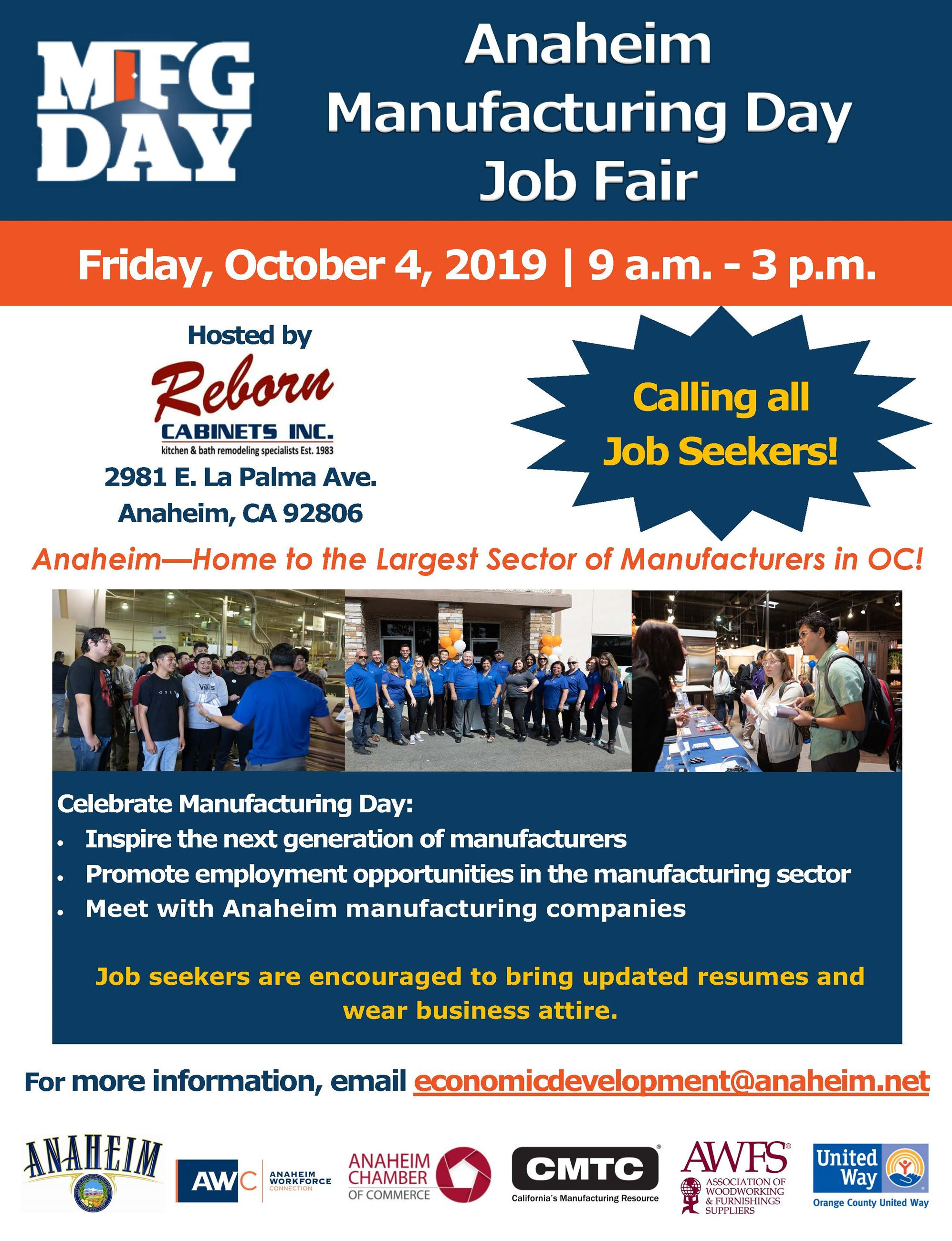 Manufacturing Day Flyer - Job Seeker