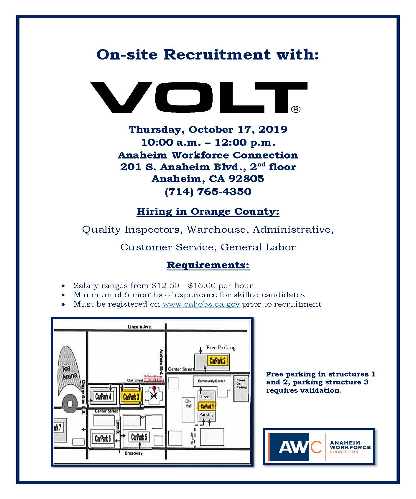 Volt Recruitment Flyer 10.17.19