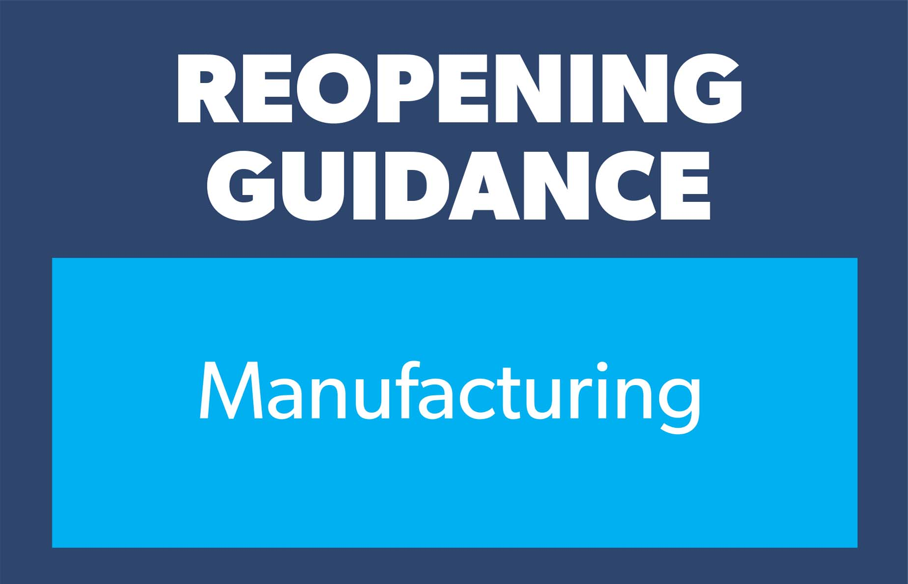 Guidance manufacturing