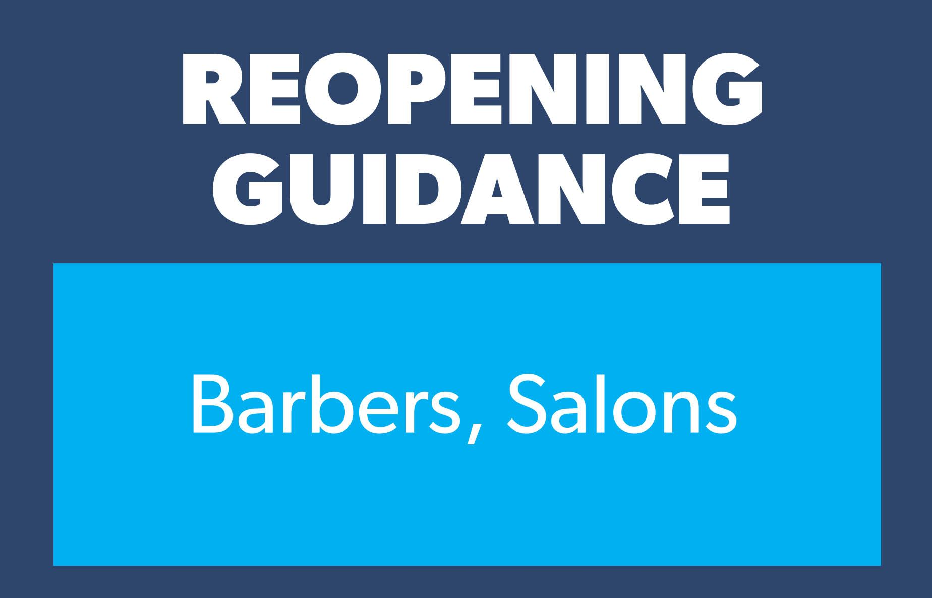 Guidance barbers salons