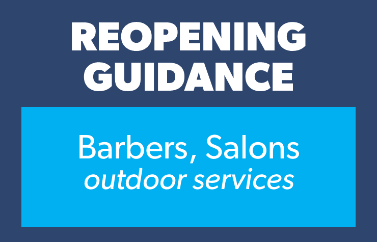 Salons barbers OUTDOORS