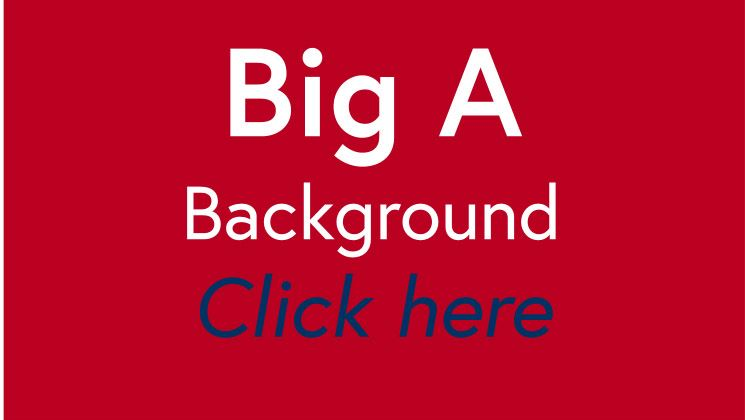 Big A background tile red