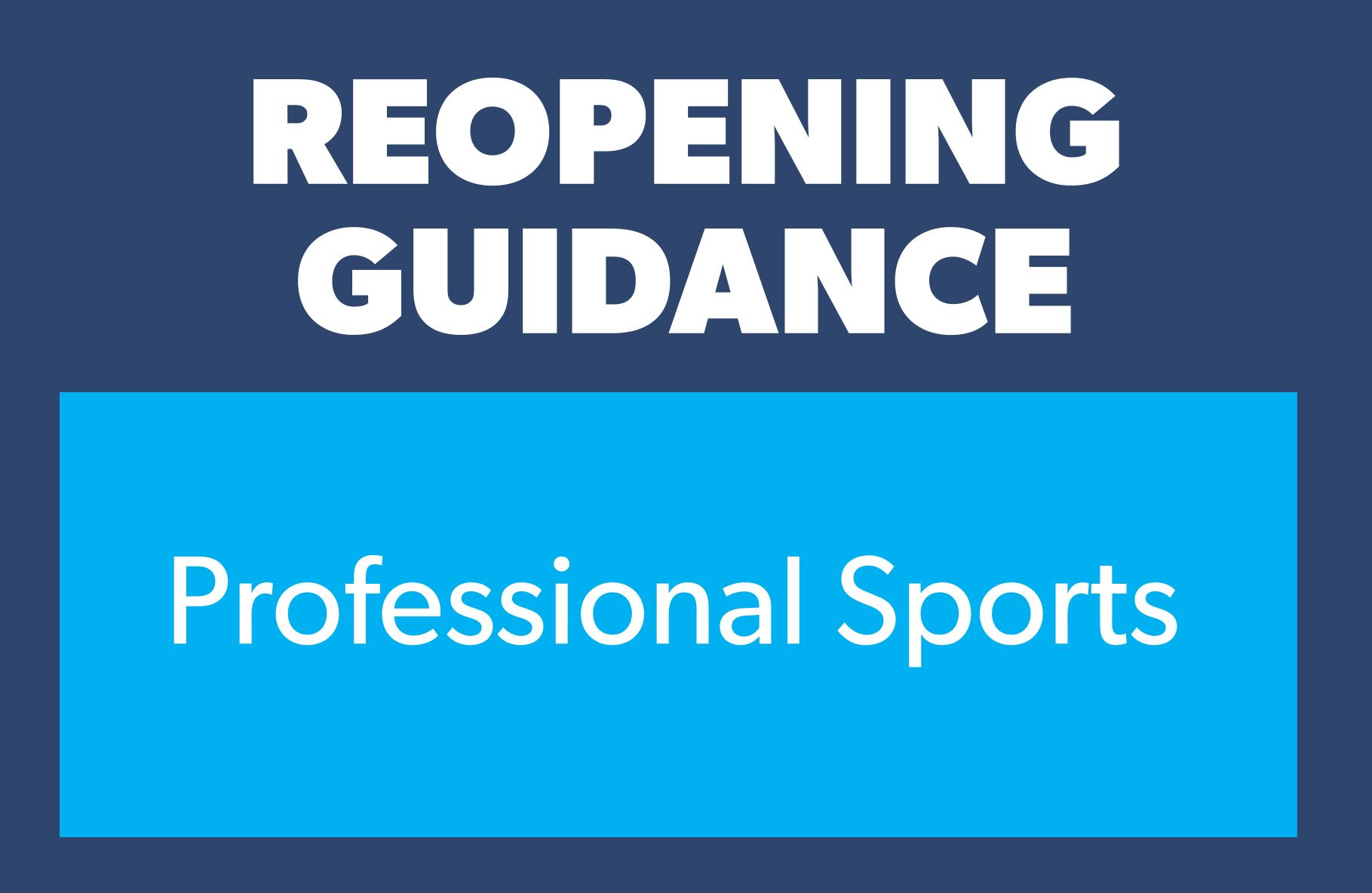 guidance professional sports