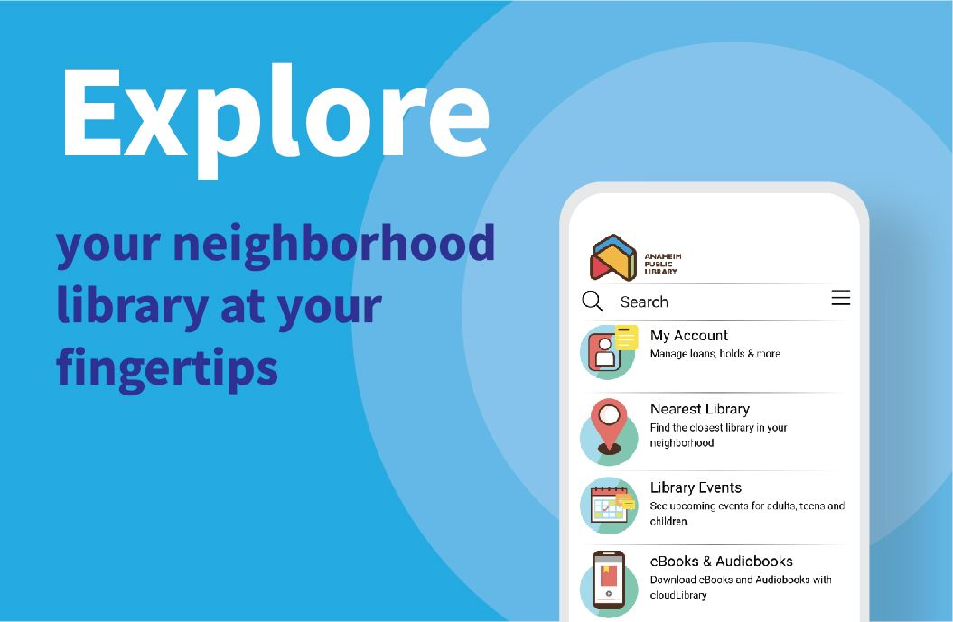 Explore the new library app