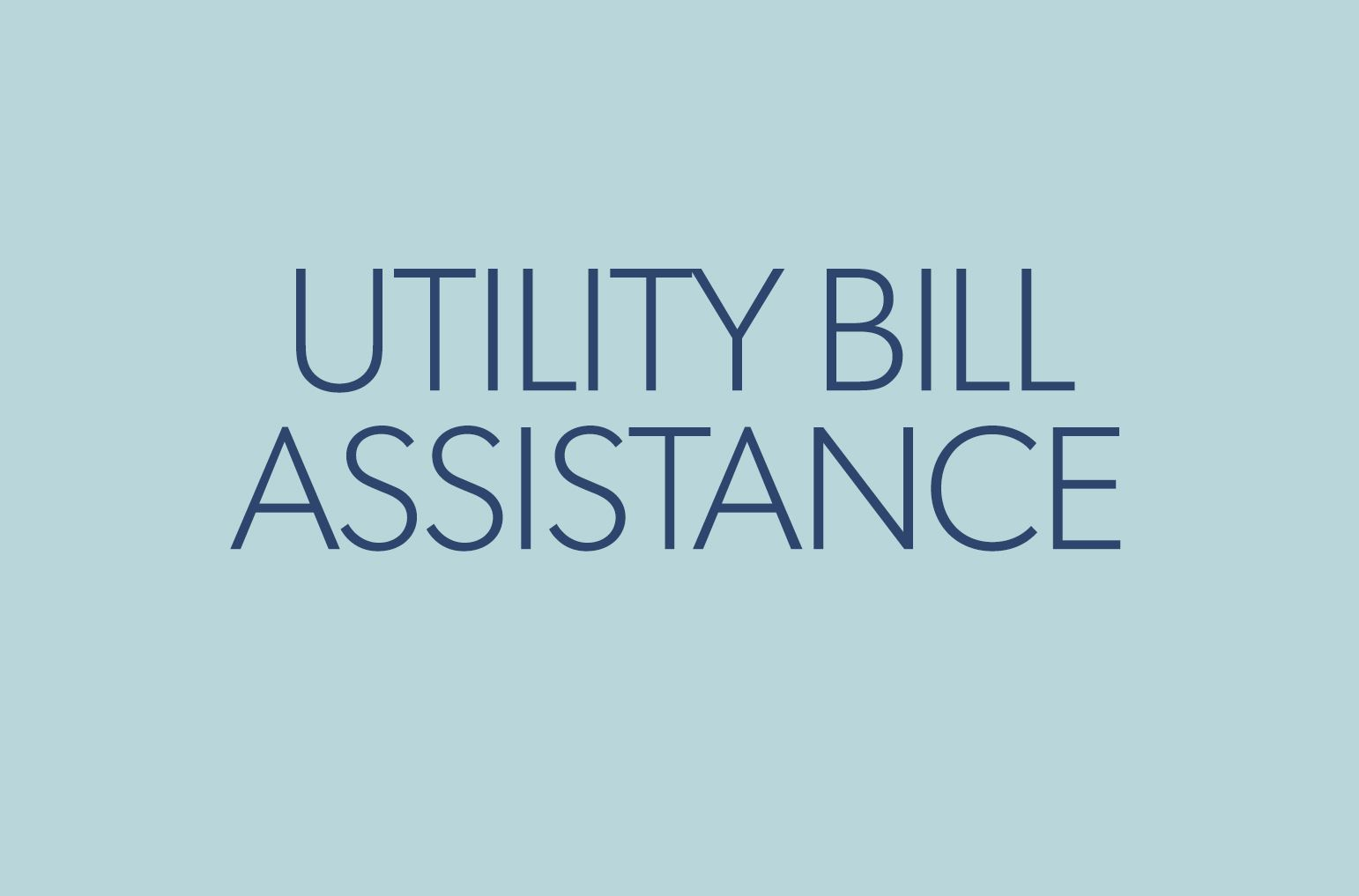utility bill assistance business