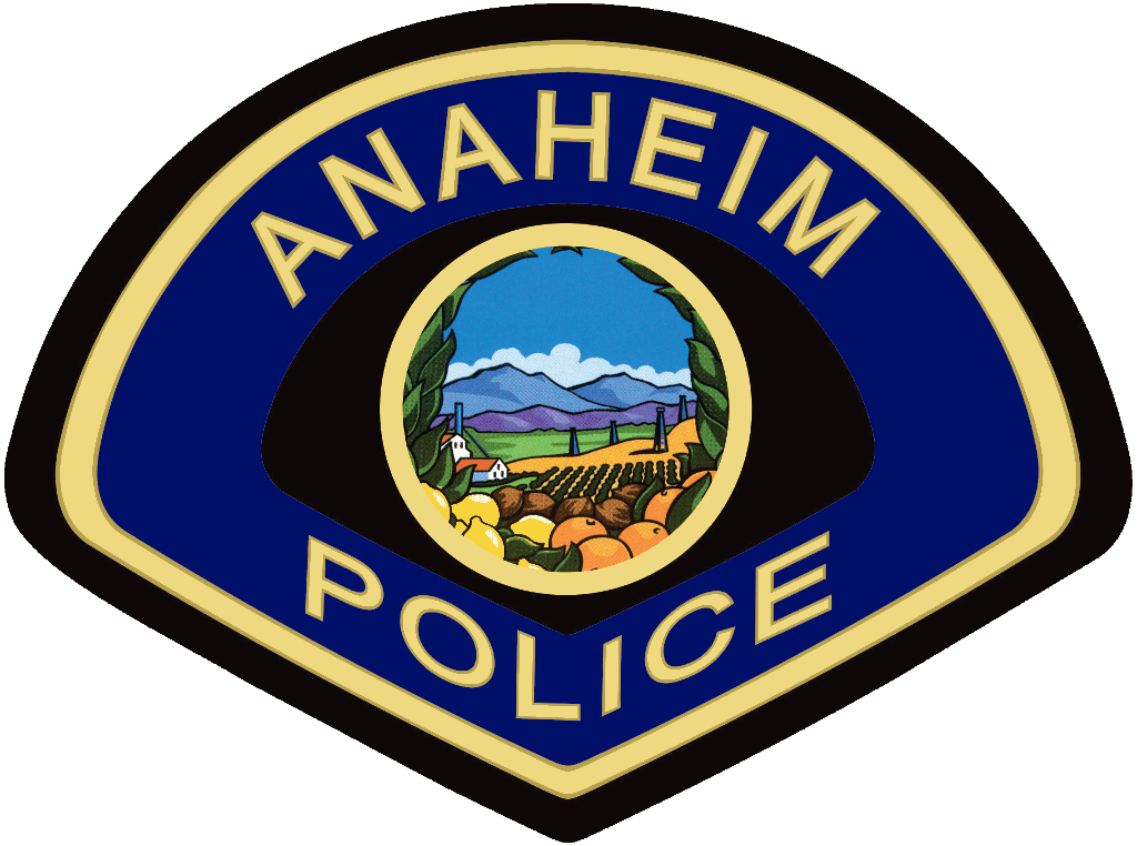 Anaheim Police Department Patch
