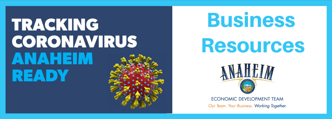 Coronavirus Business Resources Button Opens in new window