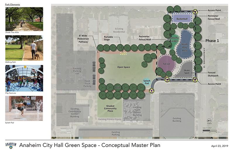 Center Greens_Master Plan_Phase 1 Boundary