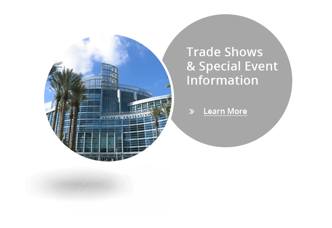 Fire Trade Show Special Events Info