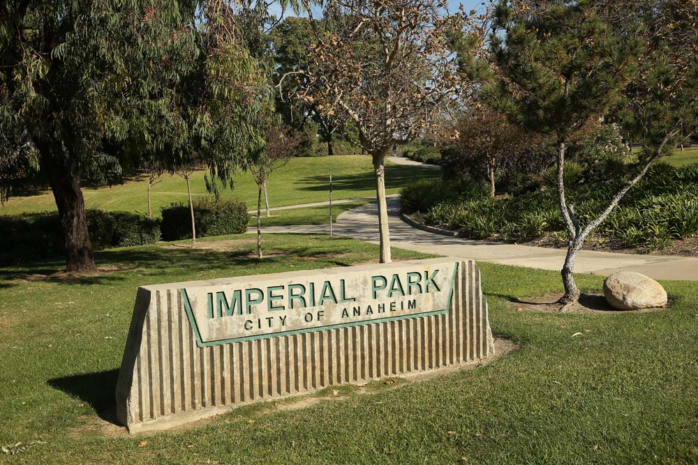 Imperial Park Sign