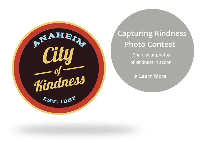 Image for Anaheim's Kindness Photo Contest