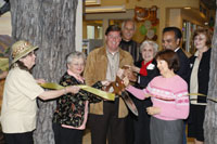 Ribbon Cutting December 8, 2007