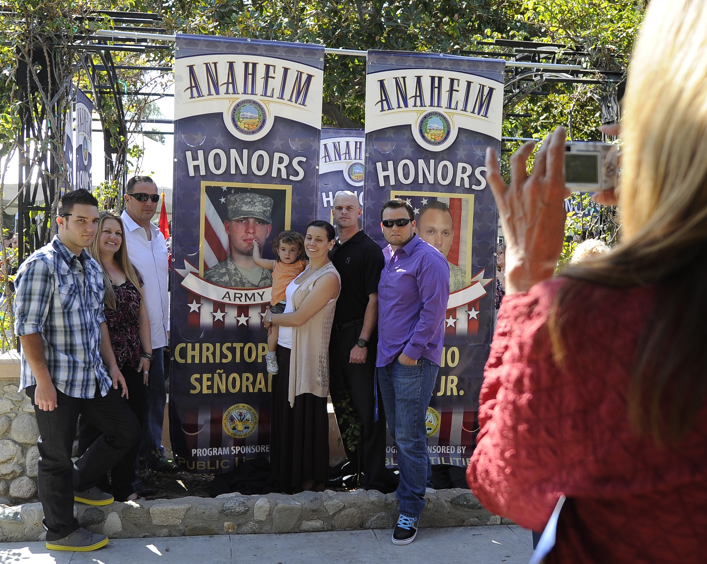 Banner Ceremony - September 25, 2012