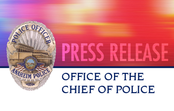 Police Department Press Release Graphic