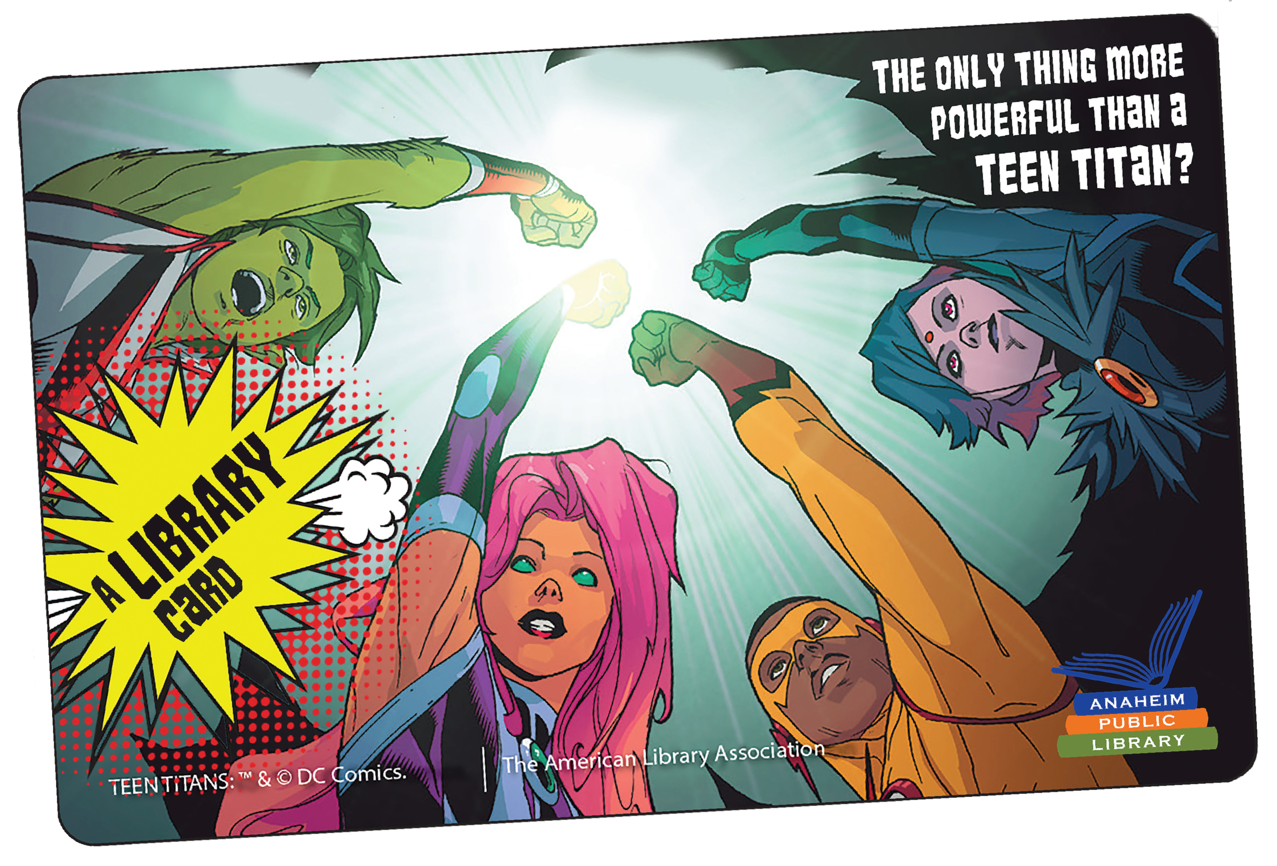 Teen Titan Card