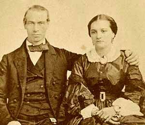 Theodore and Clementine Schmidt (circa 1871)