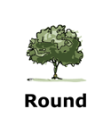 Drawing of round tree type
