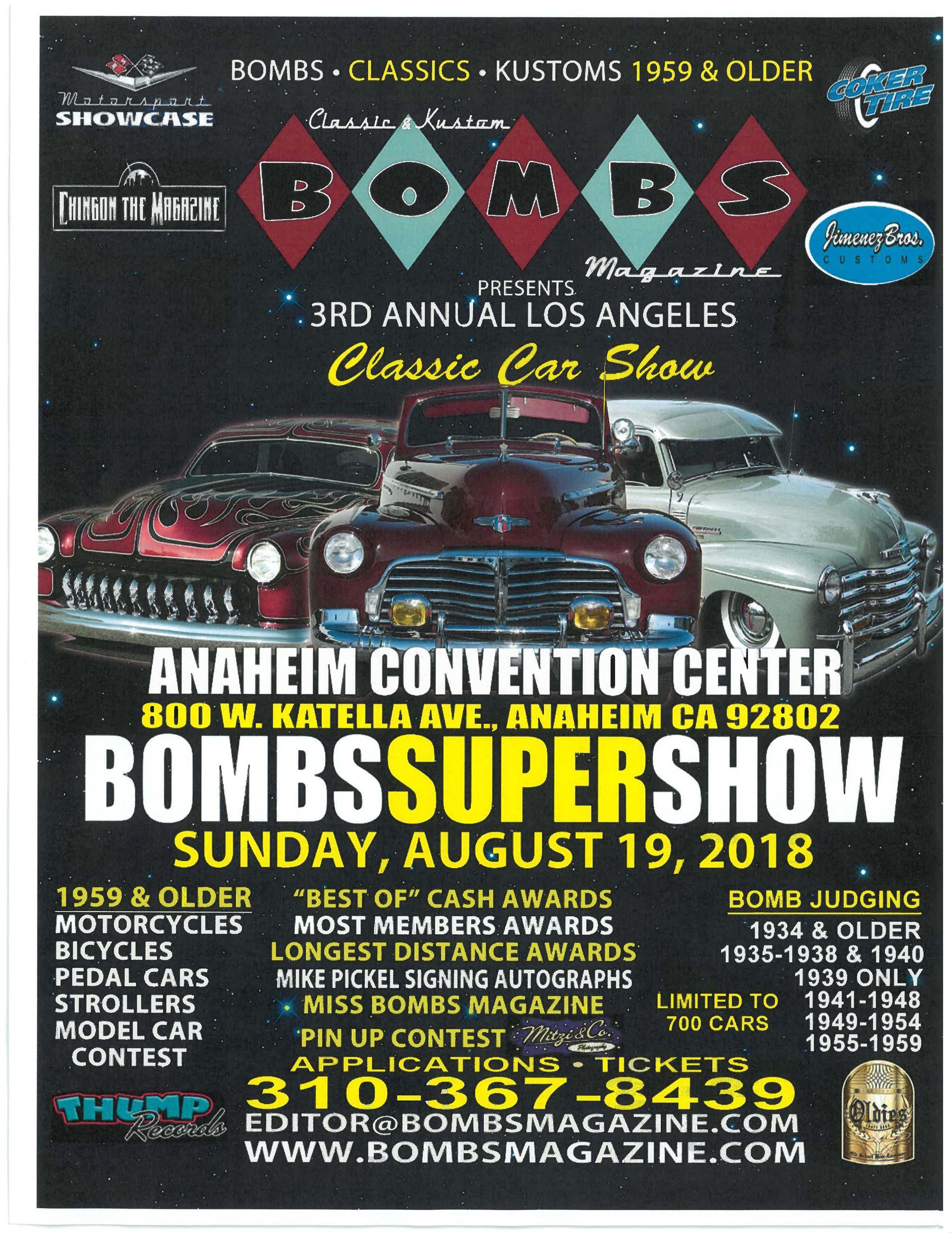 Anaheim CA Official Website - Car convention