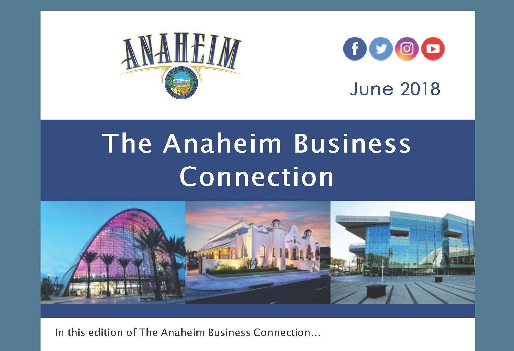 The Anaheim Business Connection - June 2018