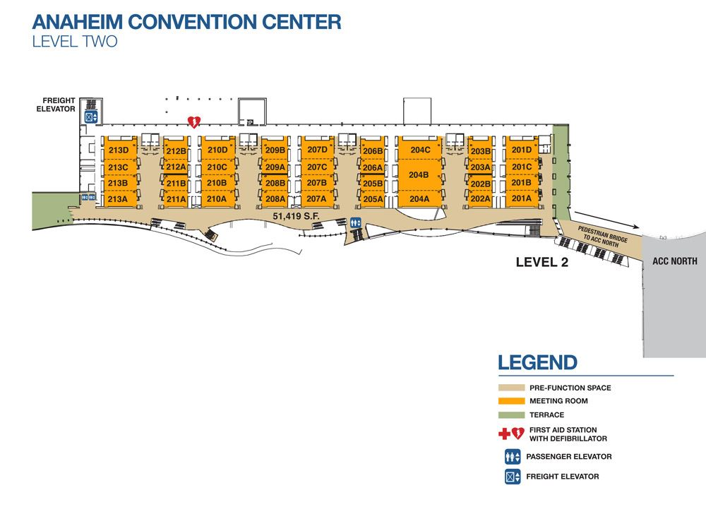 Convention Center Level Two 2018