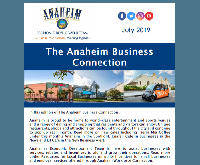 The Anaheim Business Connection - July 2019