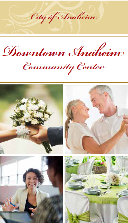 Community Center Brochure