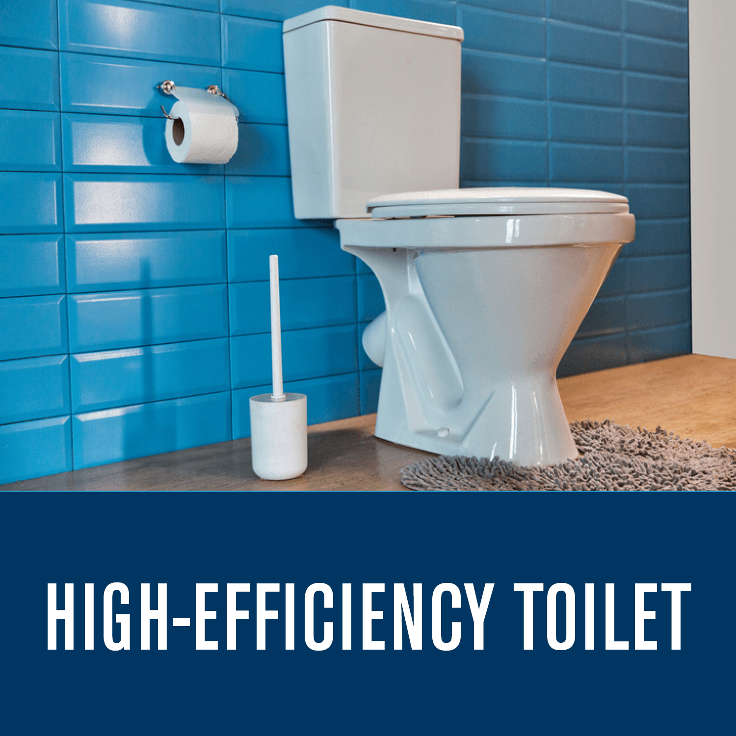 High-Efficiency Toilet