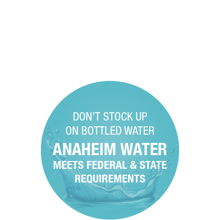anaheim water meets requirements