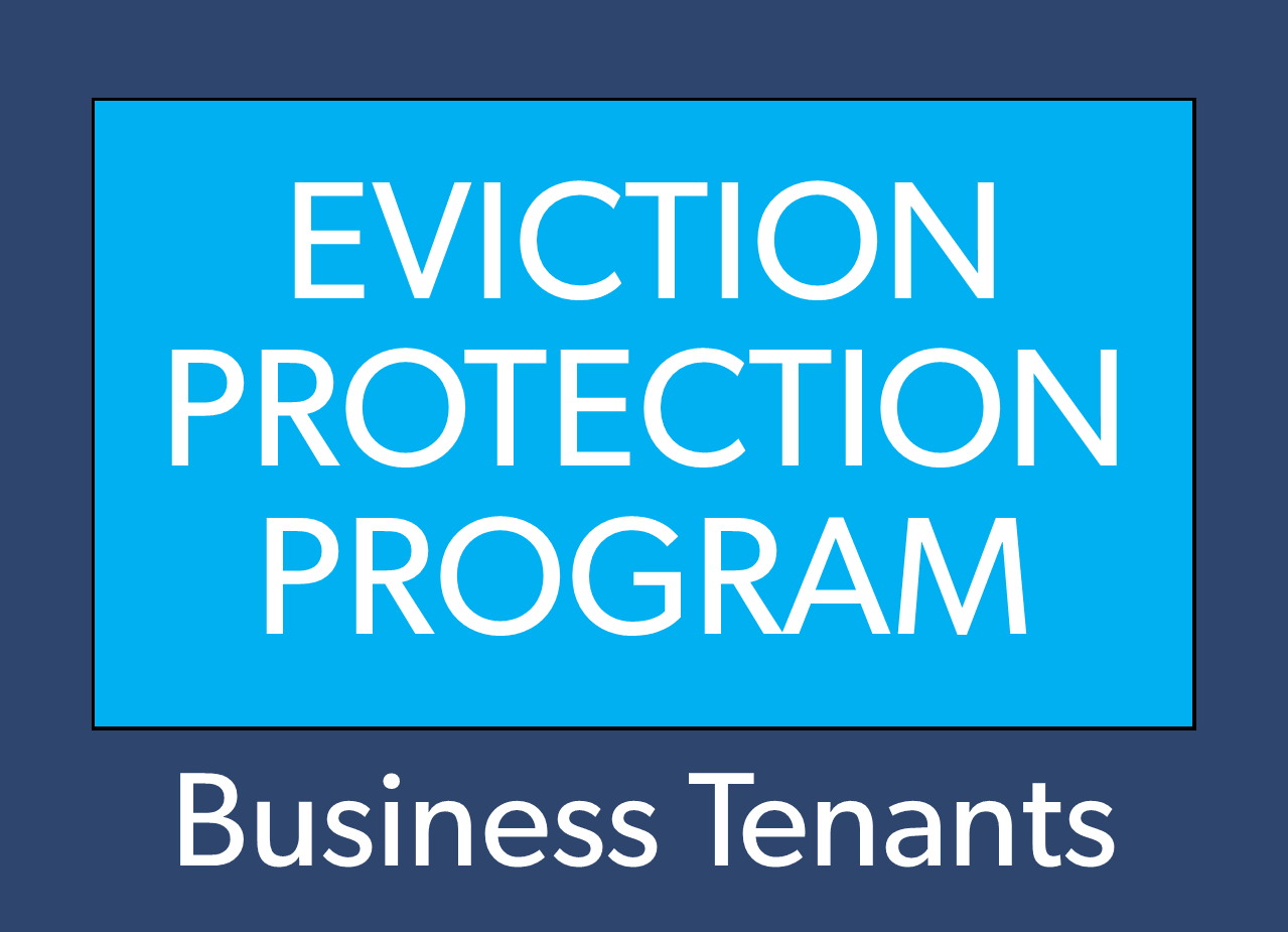 Eviction business tenant button