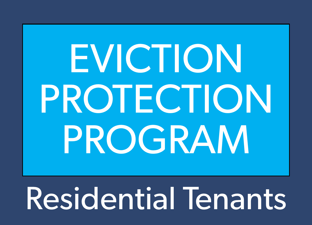 Eviction residential tenant button