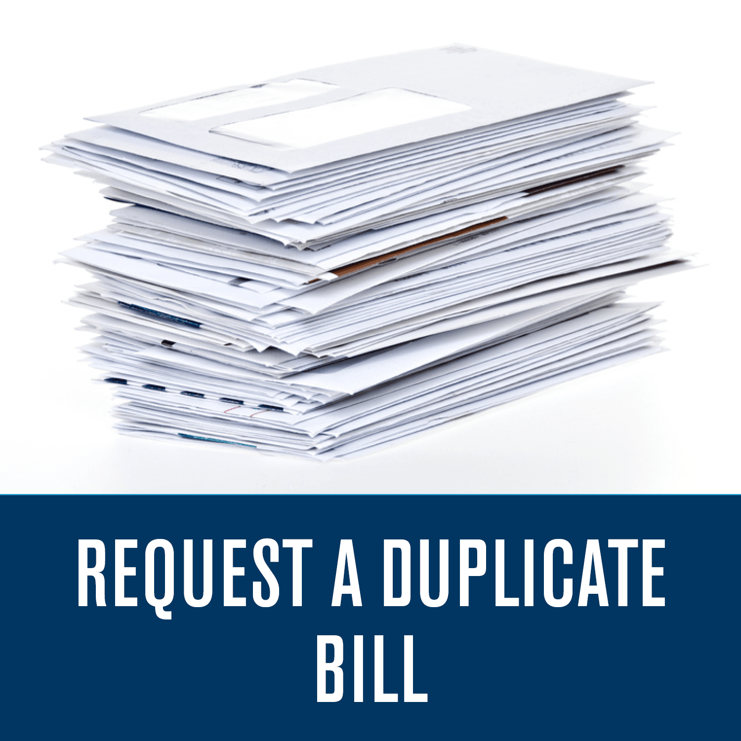 Request A Duplicate Bill