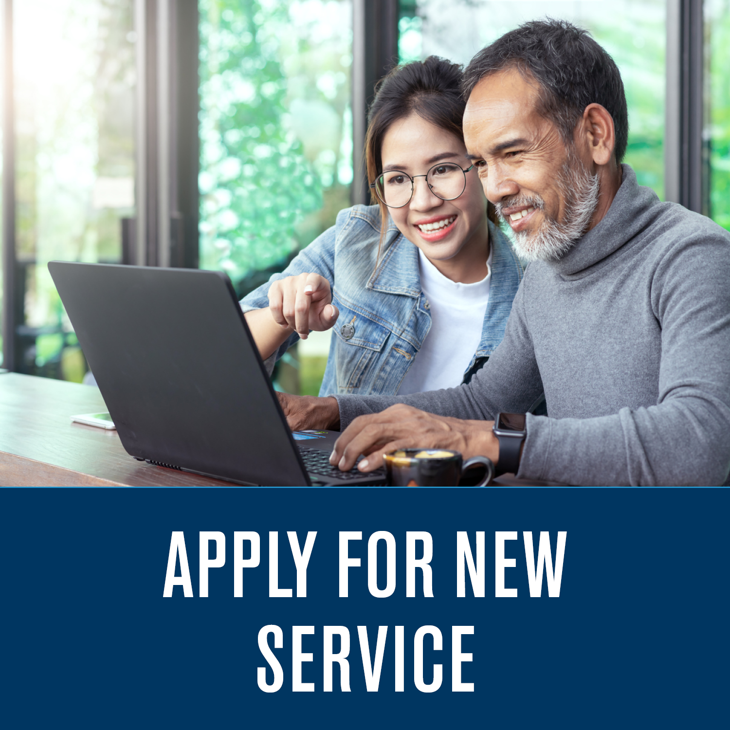 Apply For New Service