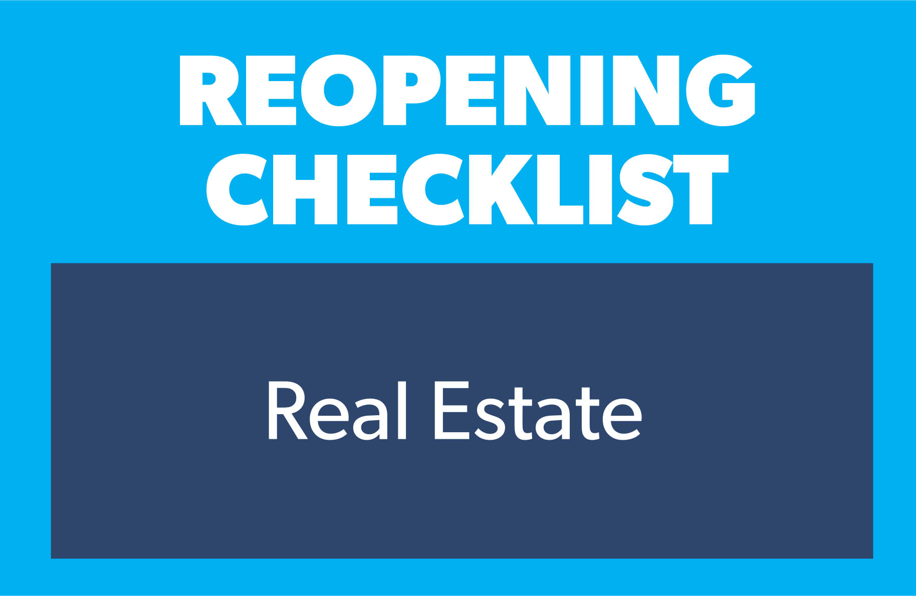 checklist real estate