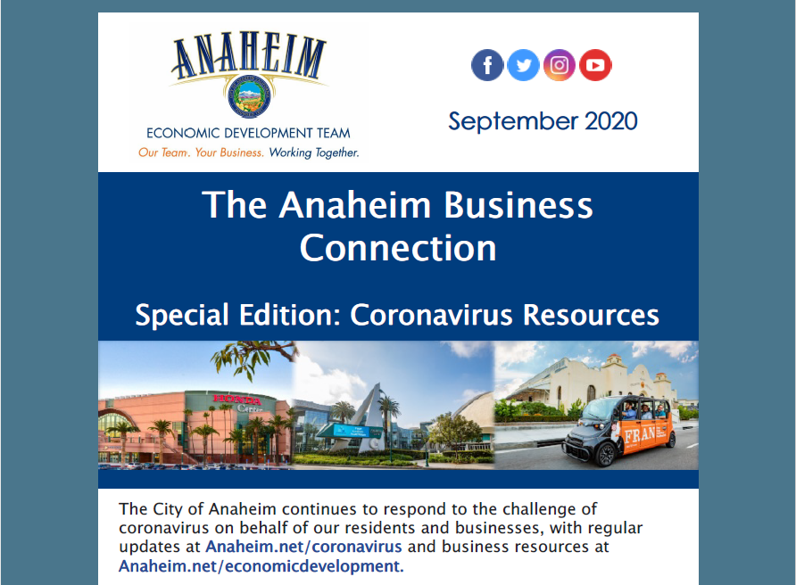 The Anaheim Business Connection - September 2020