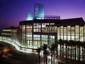 Convention Center at night