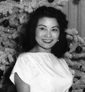 Mary Hirahara, first Christmas in Anaheim