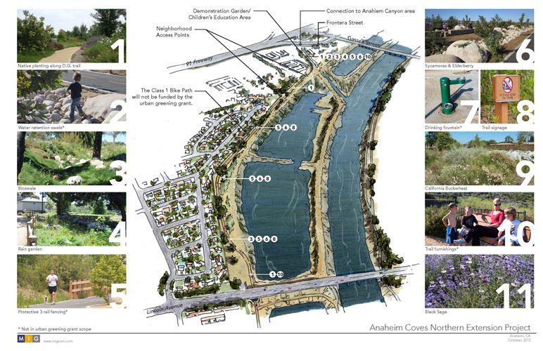 Anaheim Coves Northern Extension